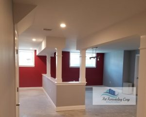 basement finishing in Arlington, ma