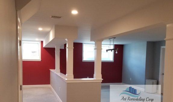 basement finishing in Arlington, ma