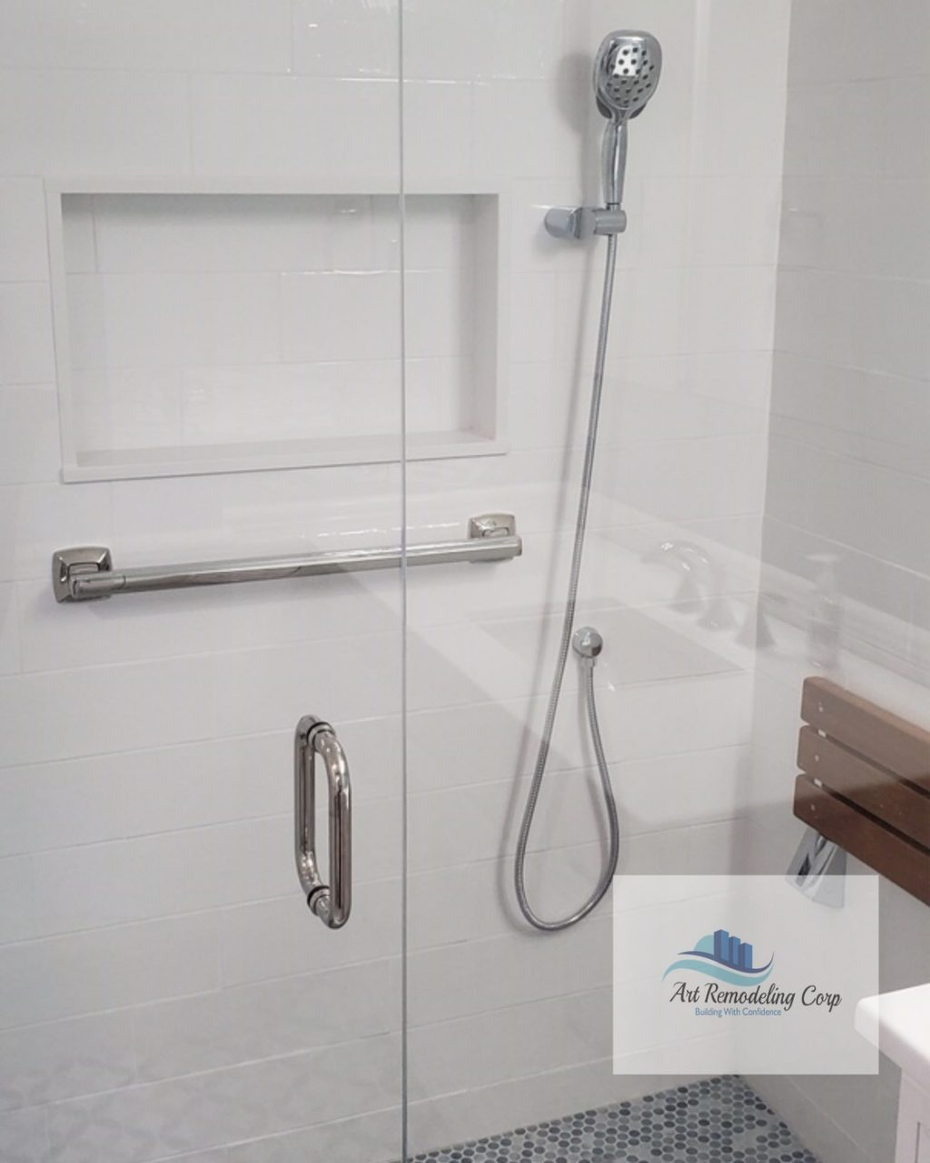 tub to shower conversion Arlington MA